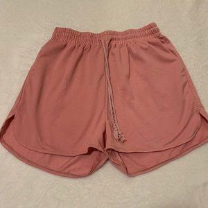 Baby pink Lounge Shorts
